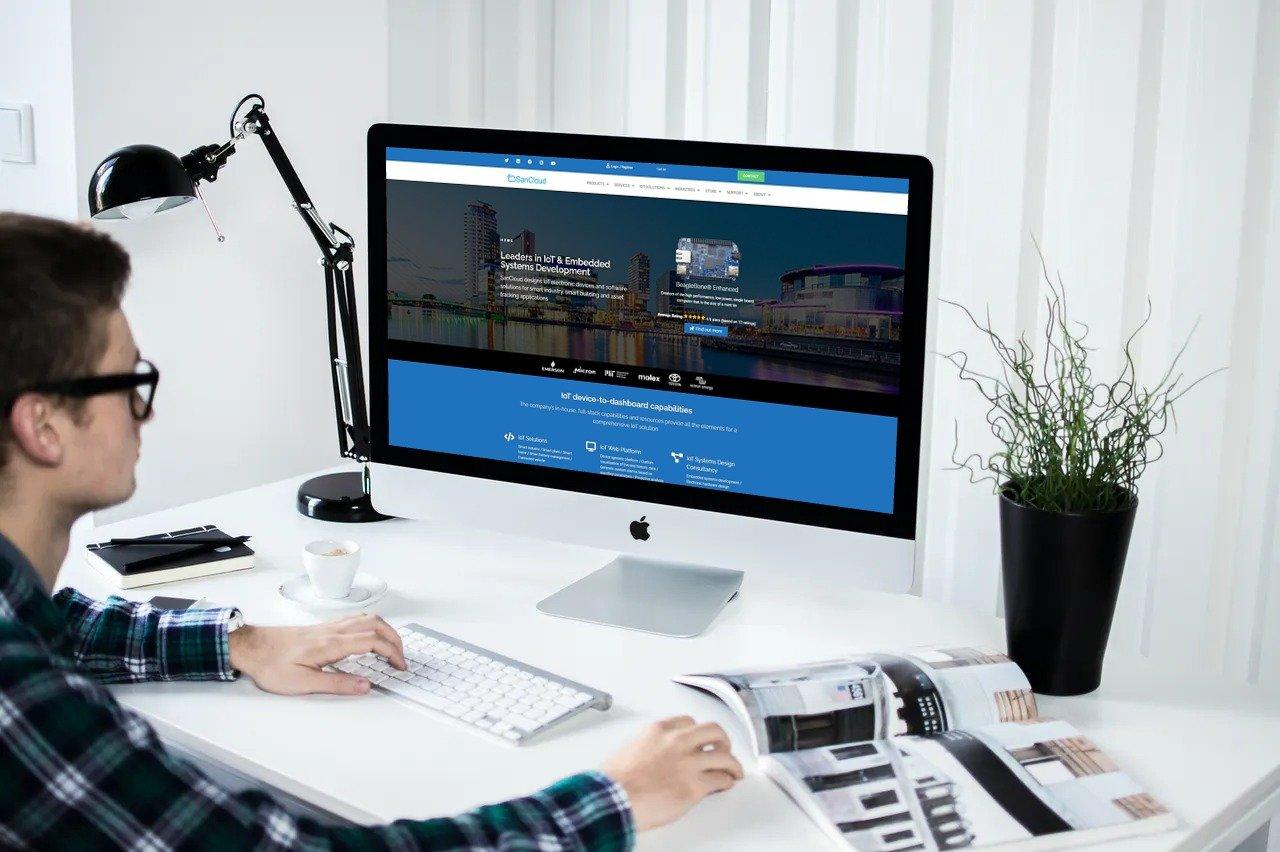 SanCloud Website Design & Development