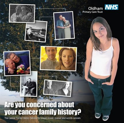 Oldham Cancer Family History Marketing